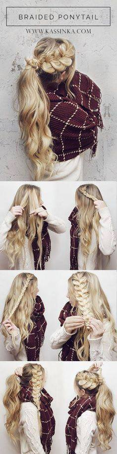 Gorgeous Braided Ponytail