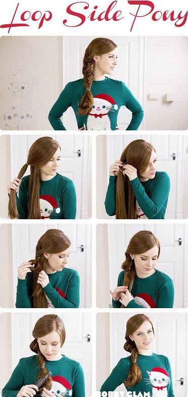 Loop Side Ponytail
