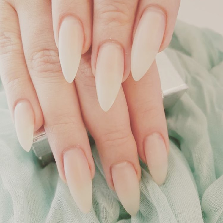 Lovely Neutral Nails