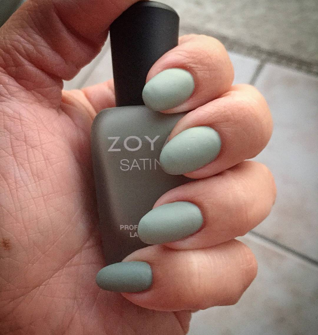 Matte Neutral Nails