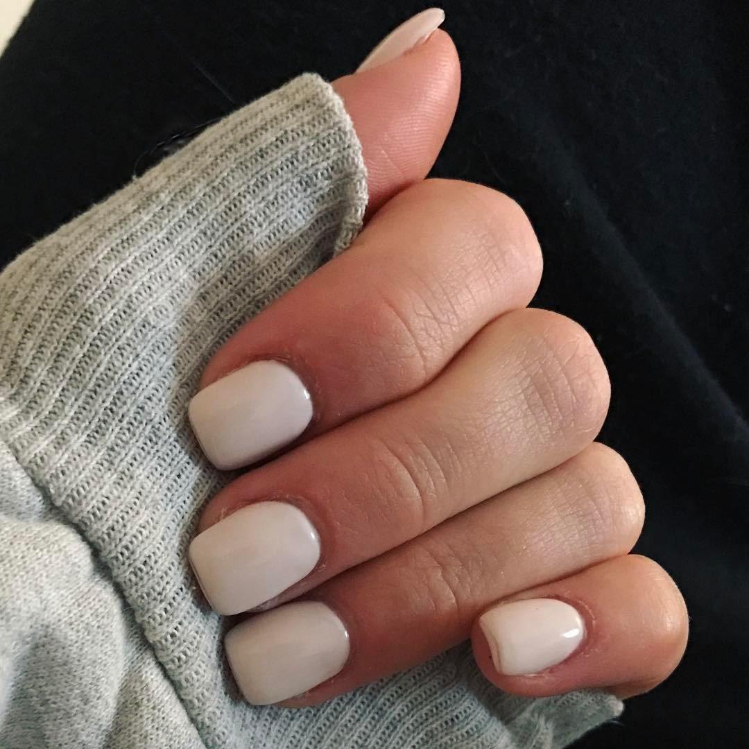 Nude Neutral Nail Design