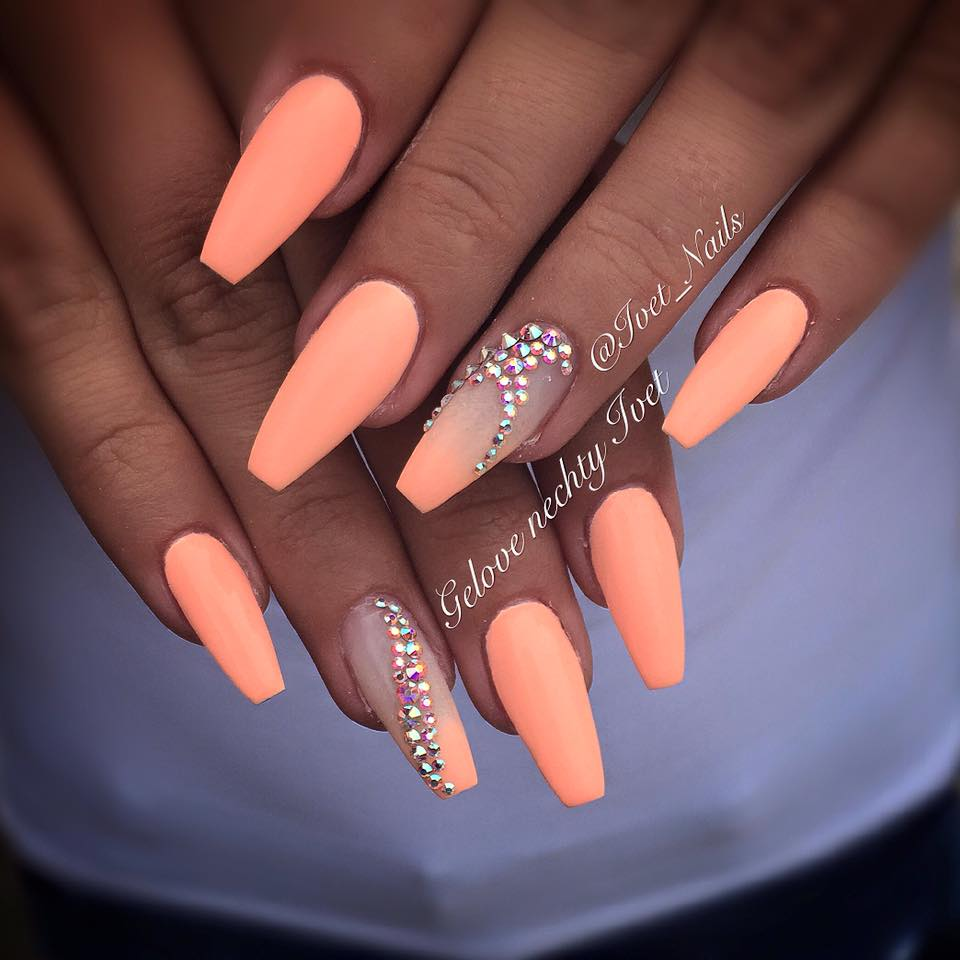 Fine Summer Ombre Nails Adornment - Nail Art Ideas - morihati.com