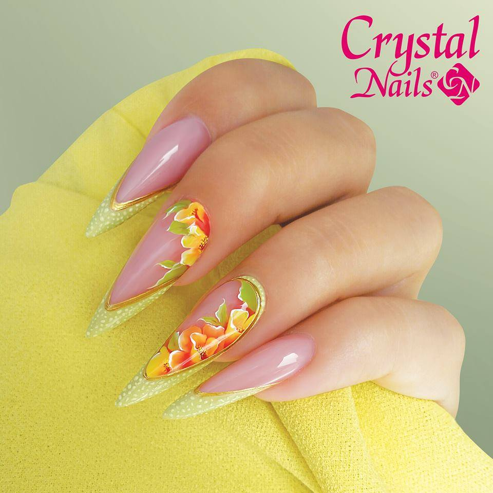 Pastel Color Gel Nails