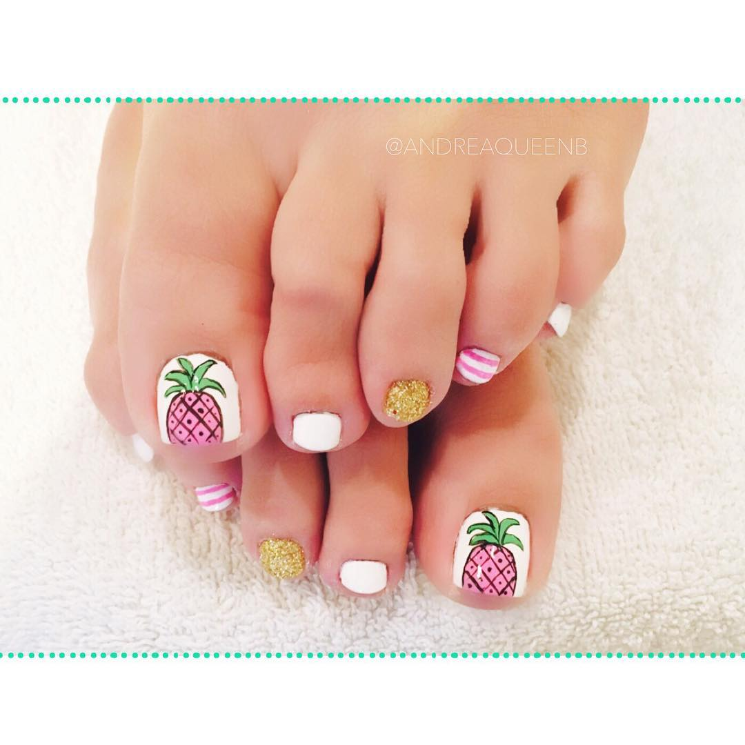Pineapple Toes