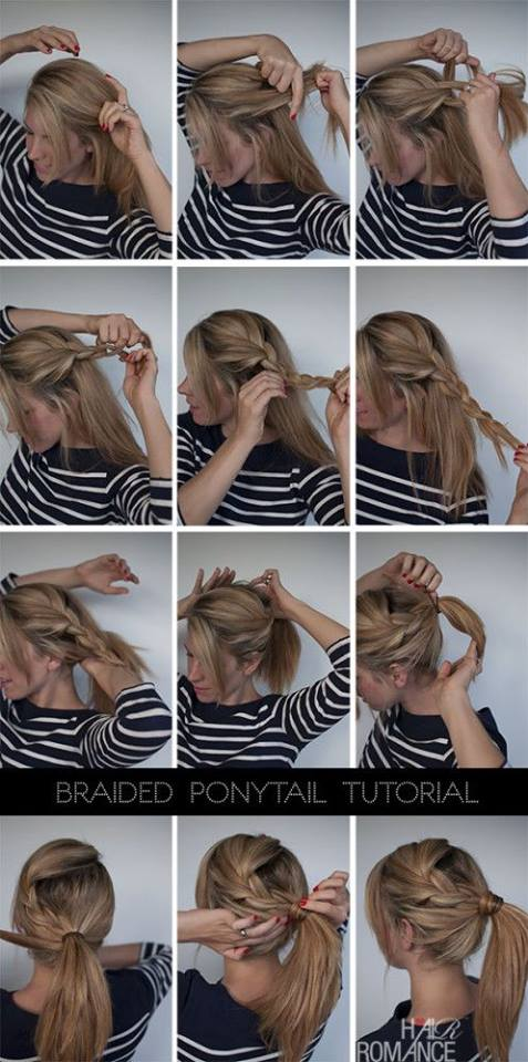 Ponytail Tutorial For Nurses