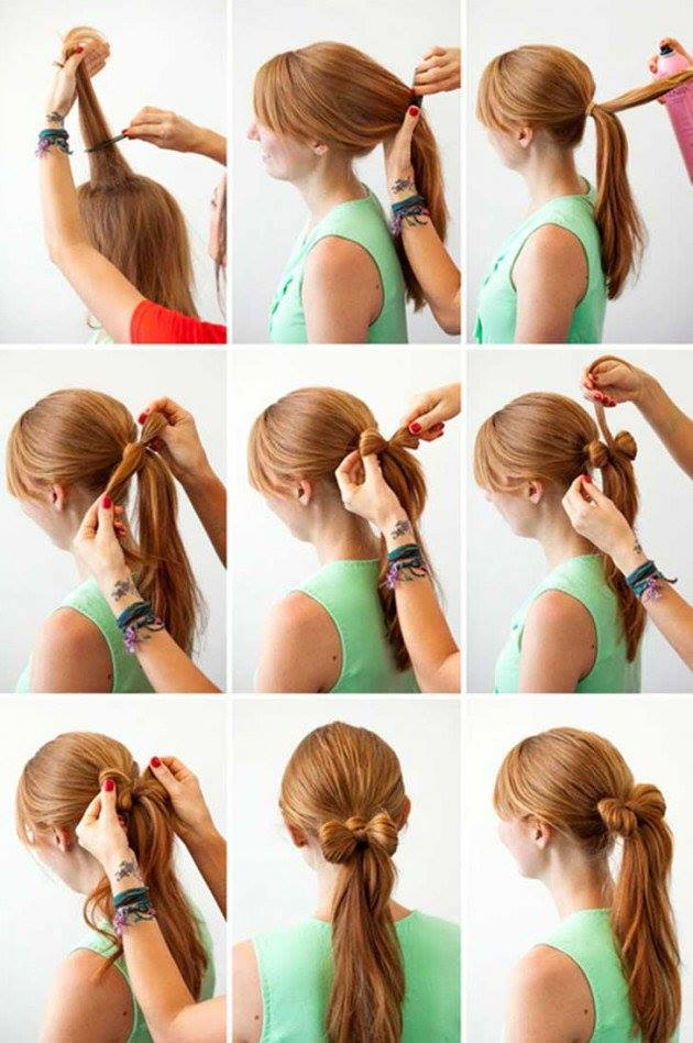 Ponytail Tutorials For The Hot Summer Days
