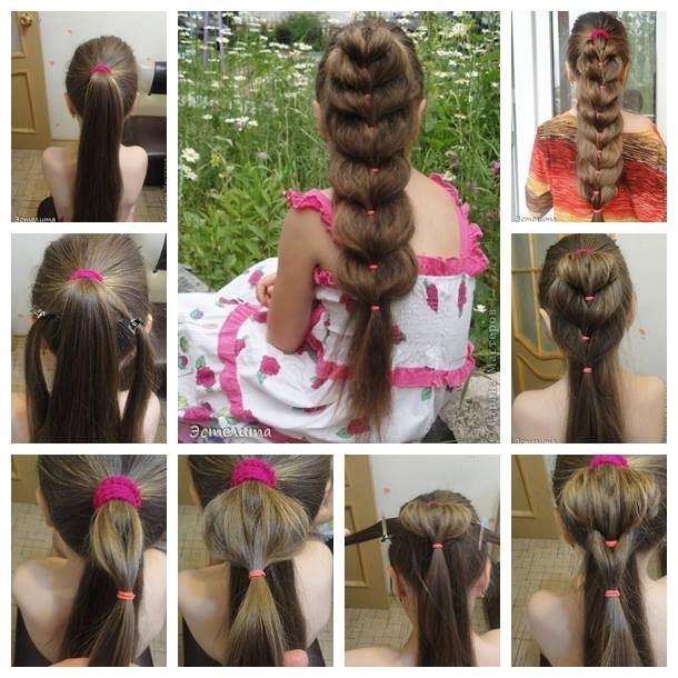 Pretty Heart Ponytail Hairstyle