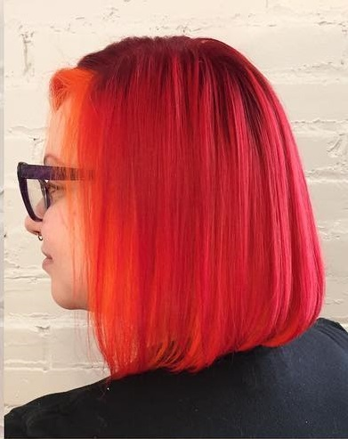 Red And Orange Hairs