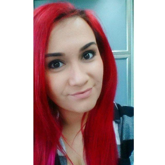 Red Head Ariel Hairs