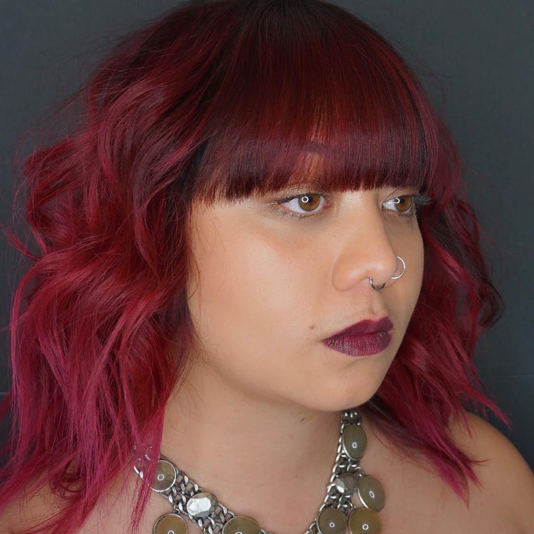 Red Unicorn Hairs