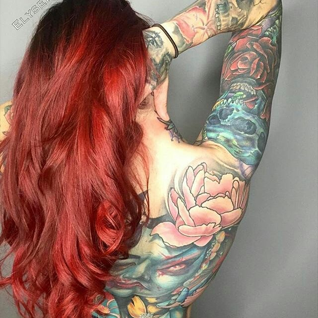 Sexy Bright Red Hairs