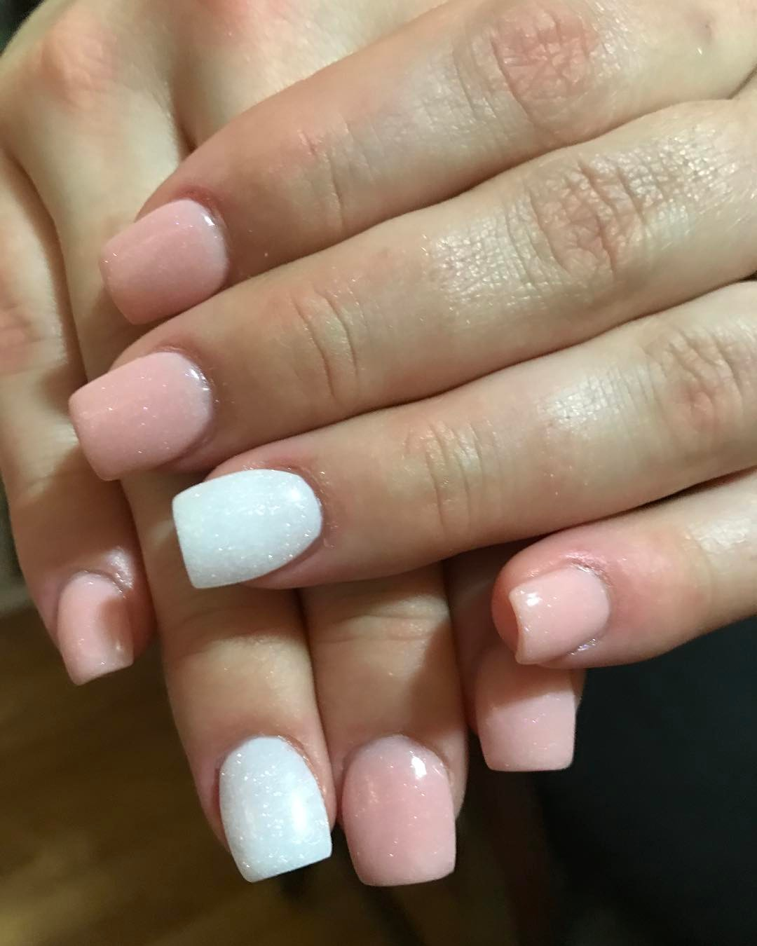Short Nude Neutral Nails