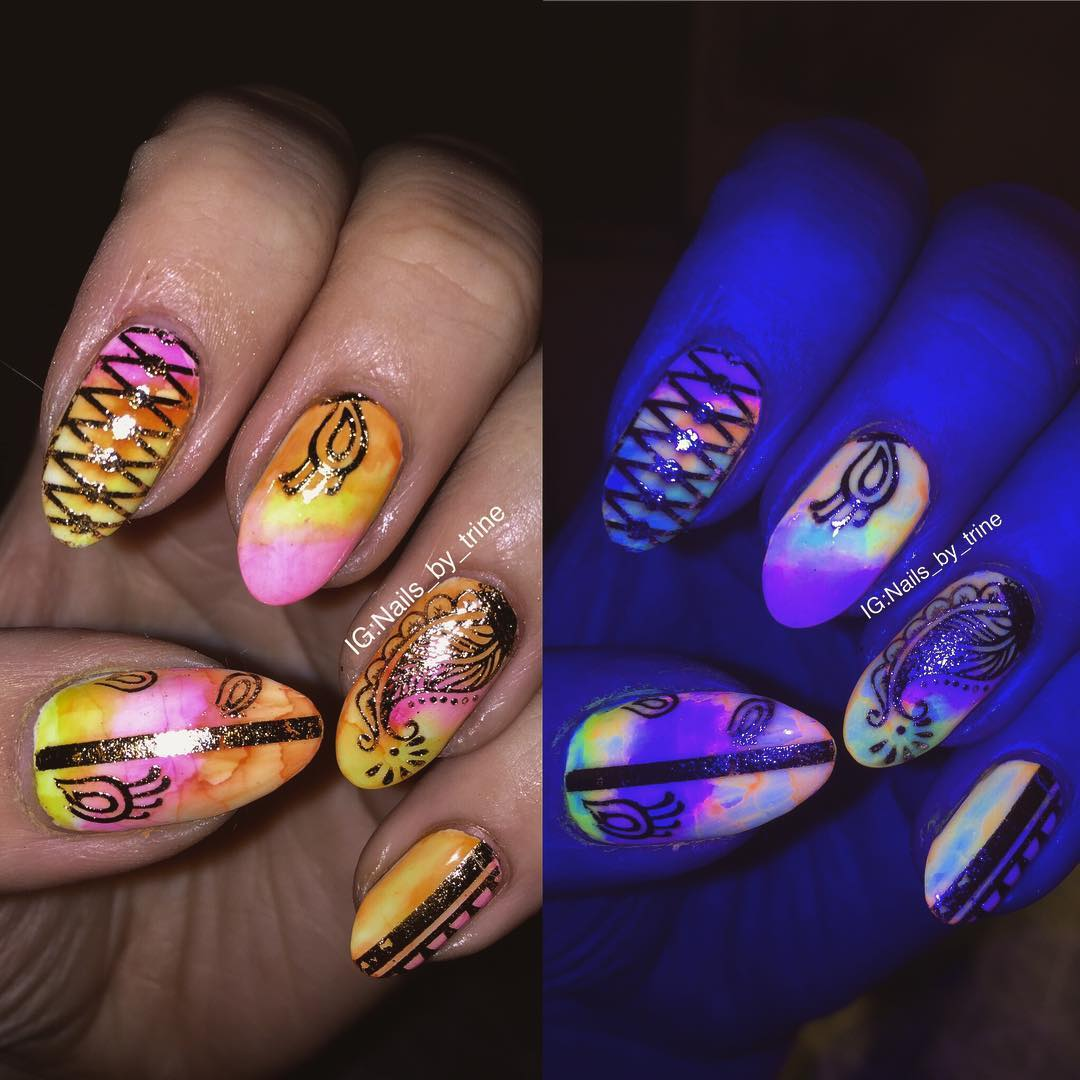 Stunning Sharpie Nails