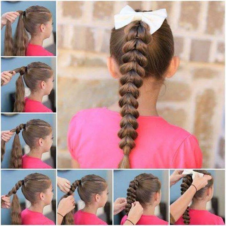 Stylish Ponytail Hairstyles With Tutorials