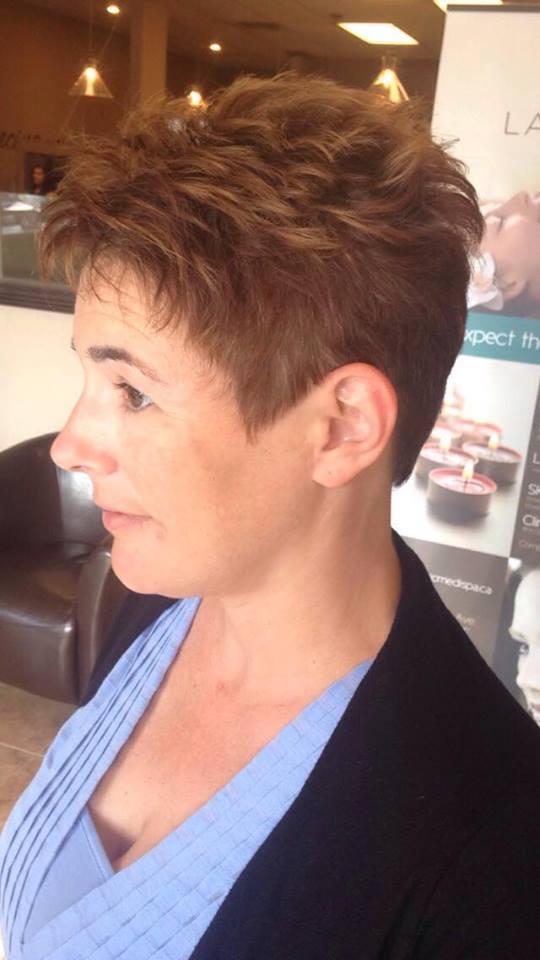 Textured Short Pixie Haircut Perfect For Summer Blurmark