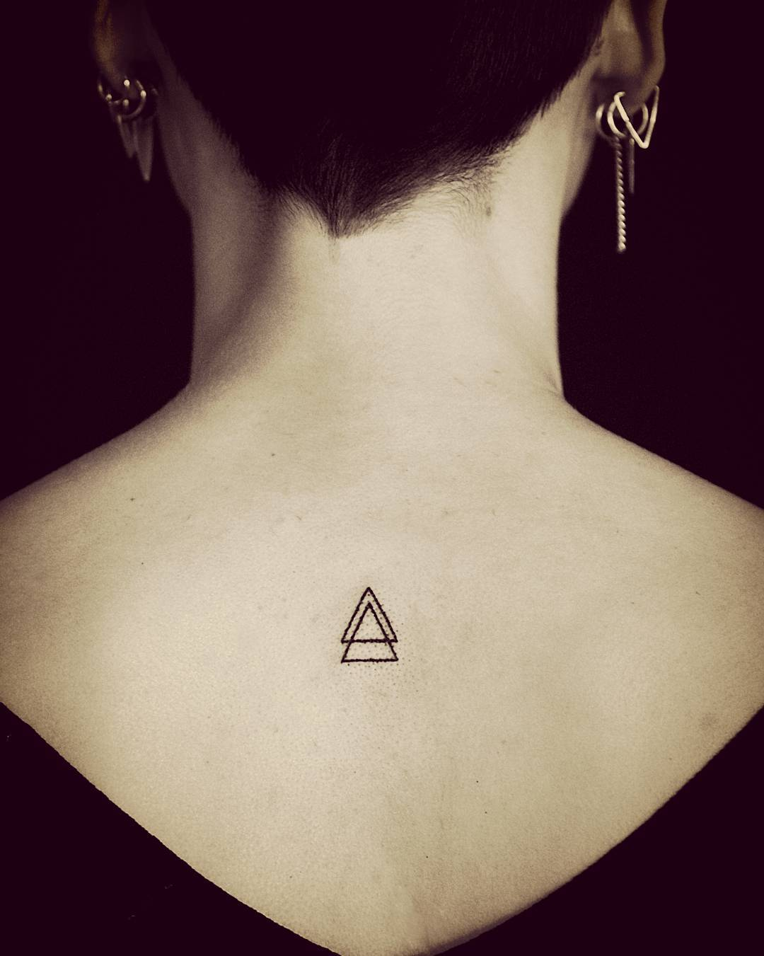 Triangle On Back