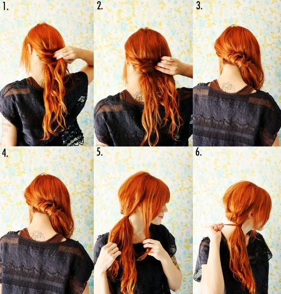 Twisted Side Ponytail Tutorial