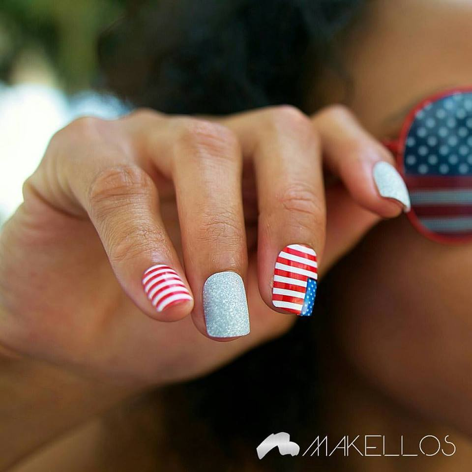 4th July Manicure