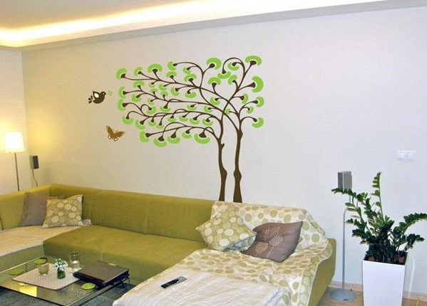 Amazing Abstract Birds and Tree Wall Stickers for Teenage ...