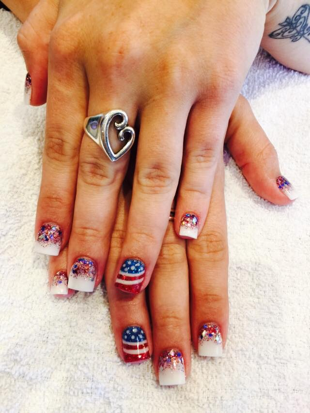 Amazing Memorial Day Nails