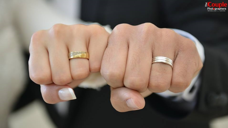 and couple couples mm dp rings attractive wedding yellow white gold