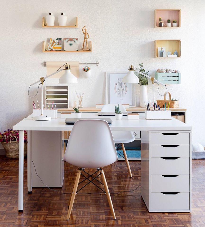 Home Office Design Decorating Ideas: 61 Superb Home Office Design & Decoration Ideas That Look