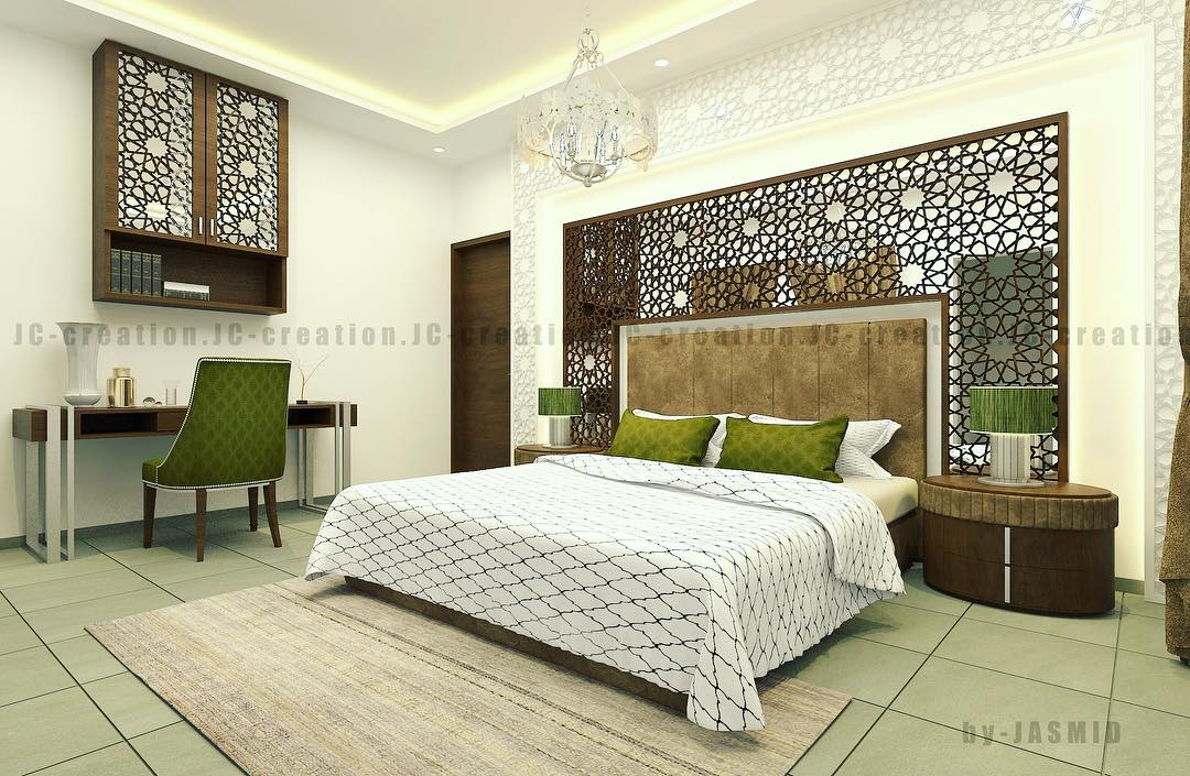 Arabic Style Bedroom Design