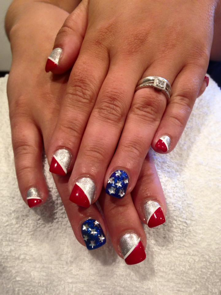 Awesome Freedom Nail Art