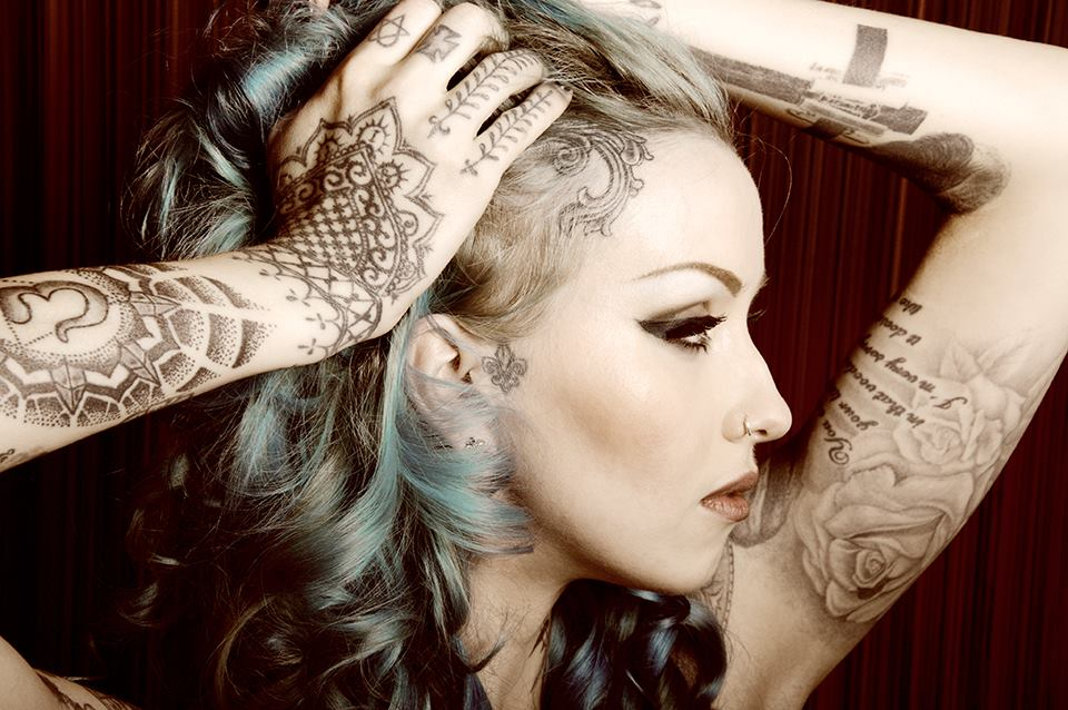 38 Popular Hairline Tattoo Ideas To Get Inked In Style