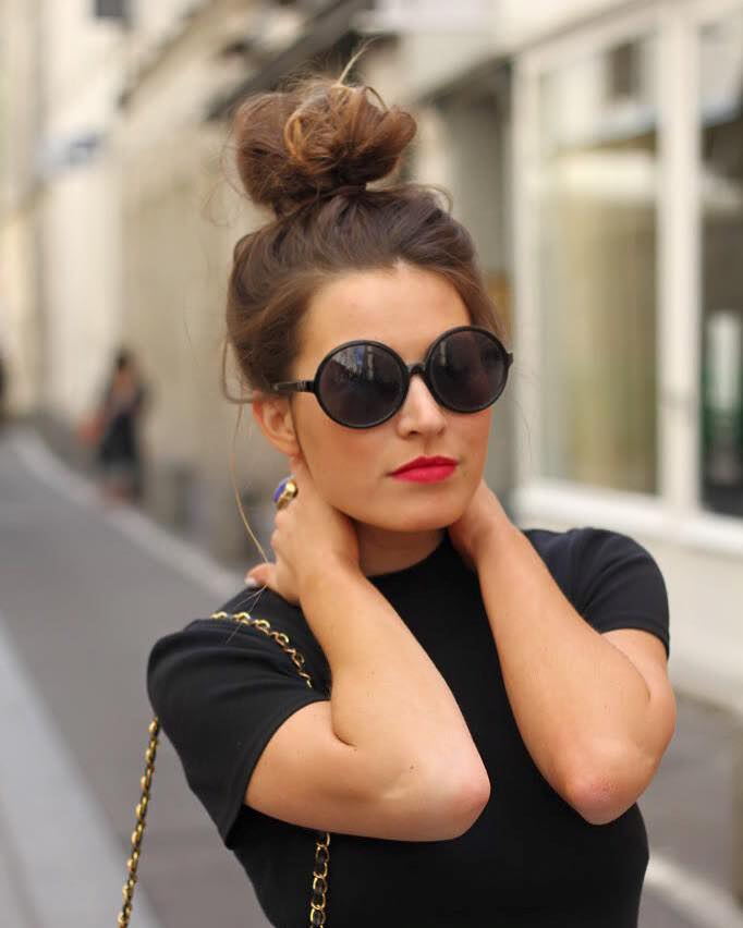 66 Beautiful Heatless Bun Hairstyles That Are Actually