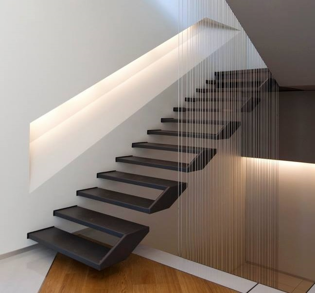 51 Stunning Staircase Design Ideas: 56 Best Contemporary Stairs Idea For Modern And Fancy Houses