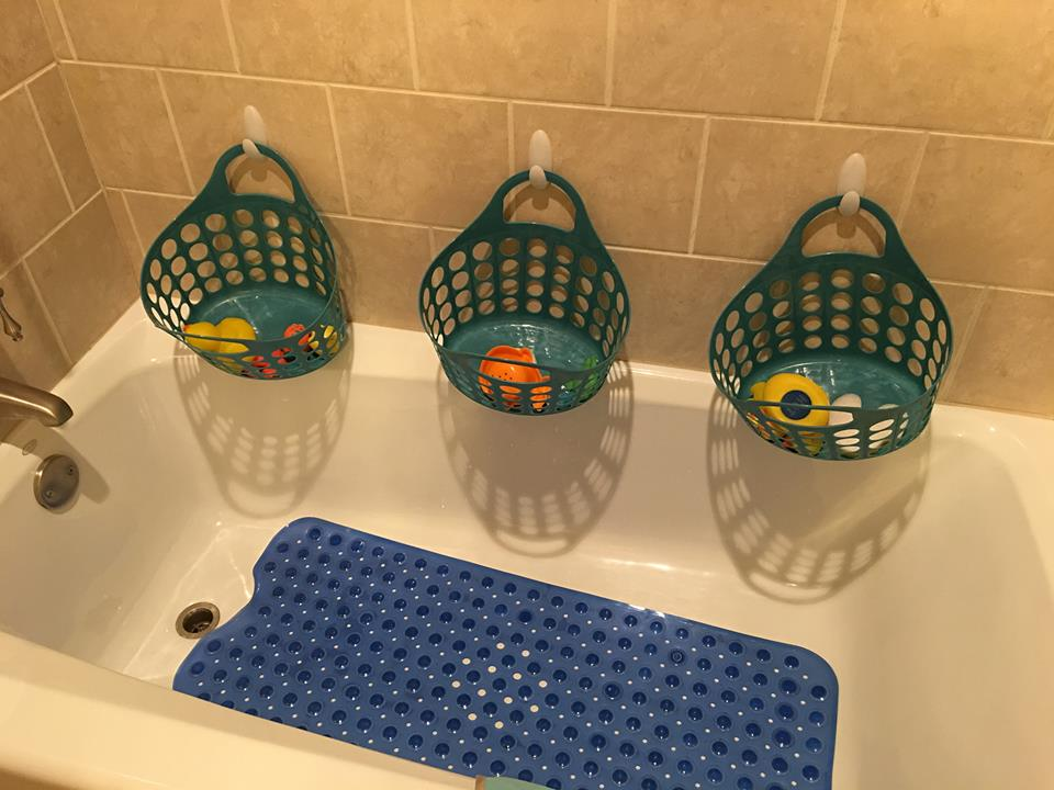 Bathtub Toy Storage Ideas - Listitdallas