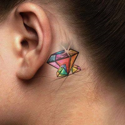 Beautiful Diamond Tattoo