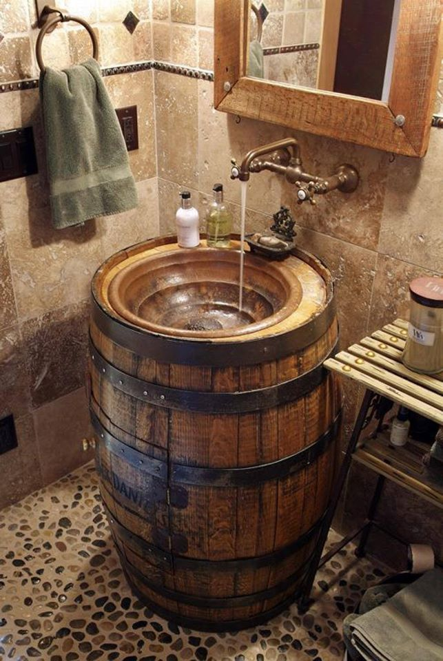 Beautiful Wooden Sink