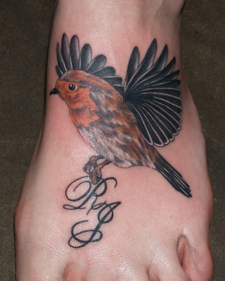 Bird On Foot