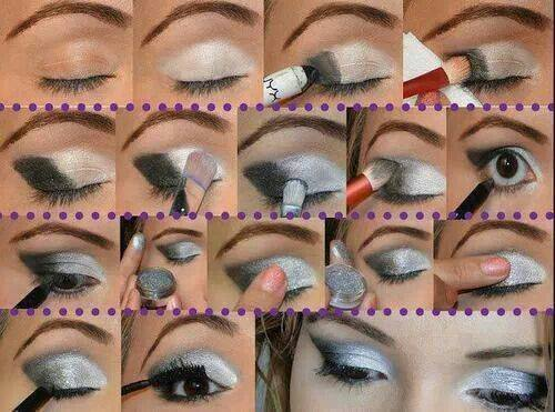 Black & White Cat Eye Makeup Tutorial