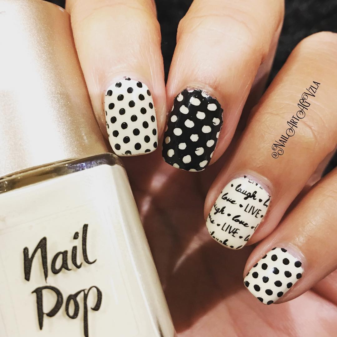 61 Simple Polka Dot Nail Art Designs For Beginners And Simplicity Lovers
