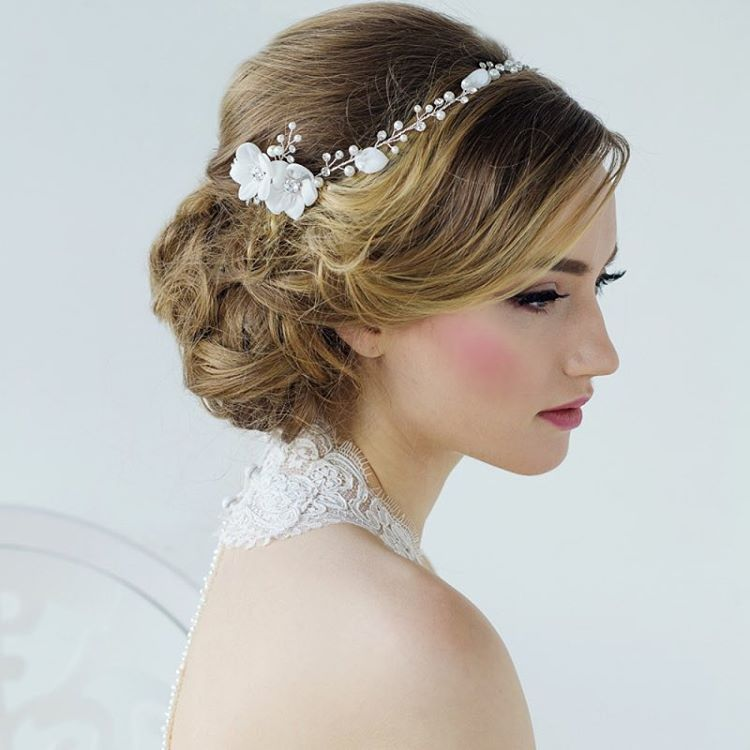 Bohomain Chic Bridal Headpiece