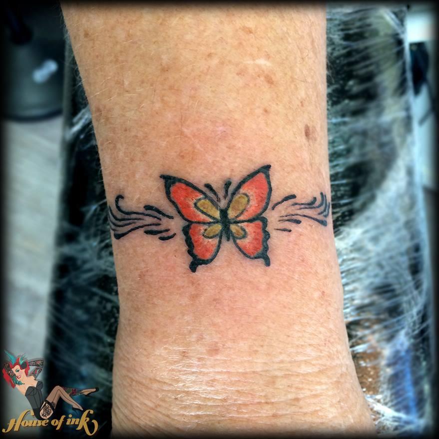 74 Wonderful Wrist Butterfly Tattoo Ideas That Every Girl
