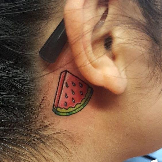 Capturing Tiny Watermelon Slice