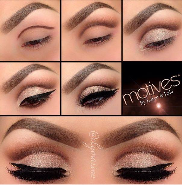 Cat Eye Makeup Idea