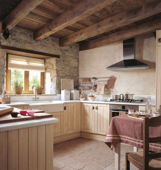 Charming Rustic Kitchen Ideas And Inspirations: 61 Easy Rustic Kitchen Design Ideas That You Entire Family