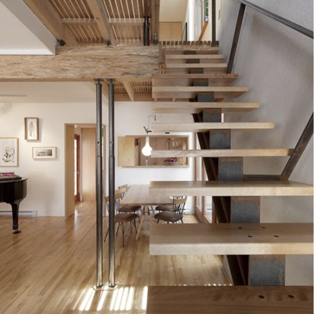 Chic Contemporary Stairs
