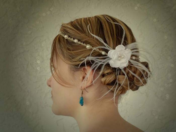 Chic Floral Pearl Hair Accessory