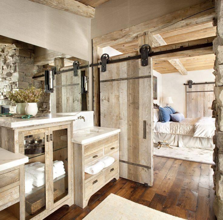 Chic Rustic Bathroom Decor Idea Blurmark