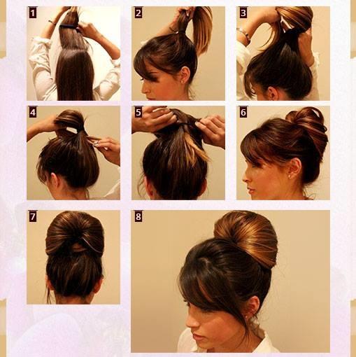 Classic Bun Hairstyle Tutorial Blurmark