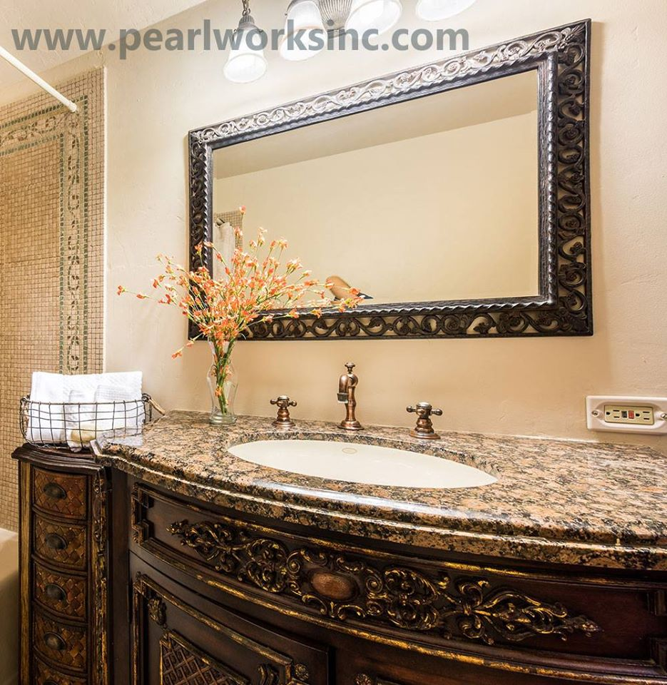 Classic Vanity Perfect For Rustic Decor