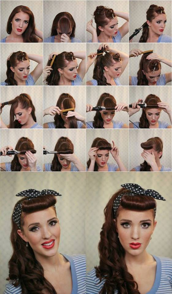 Unique Vintage Hairstyle Tutorials That Are Making A Comeback Today - Classic vintage hairstyle