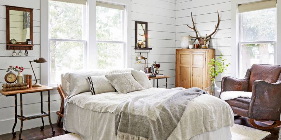 65 interesting modern bedroom design ideas to pep up the for Cozy country bedroom ideas