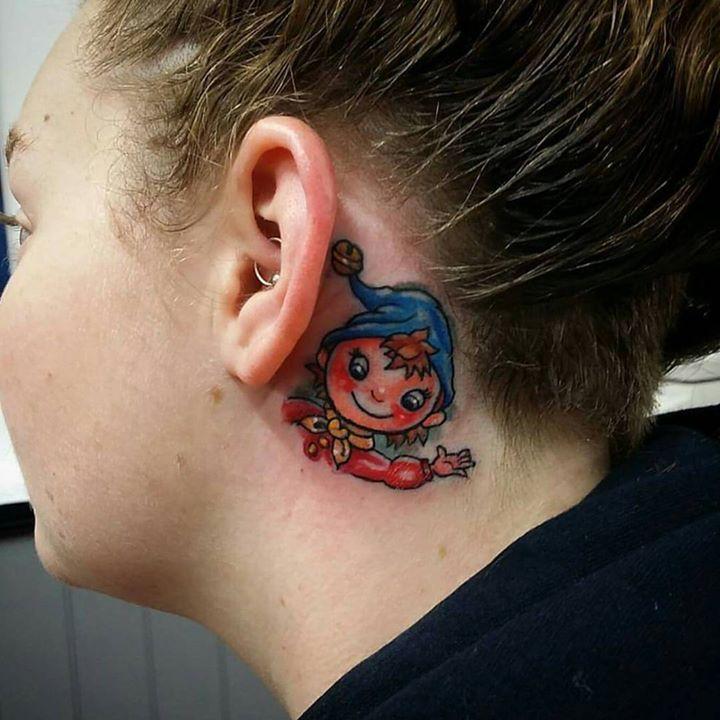 Cute Colored Tattoo